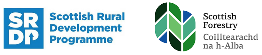 The Scottish Rural Development Programme and Forestry Commission Scotland logos